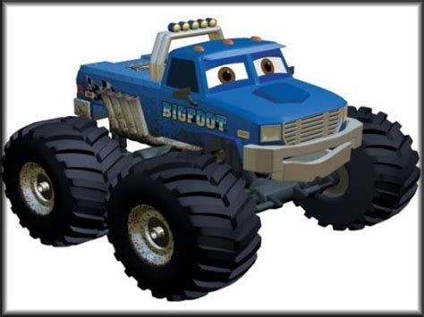 bigfoot presents meteor and the mighty monster trucks toys image gallery monster truck adventures