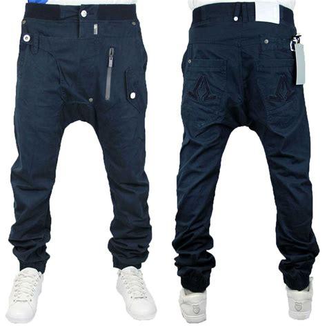 mens crotch grooming e7 mens blue j2 jeans sting designer drop crotch cuffed