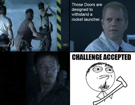 Daryl Walking Dead Meme - cassie carnage s house of horror return of the funniest