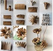 Recycle Paper Rolls You Also Can Make This Vintage Flower
