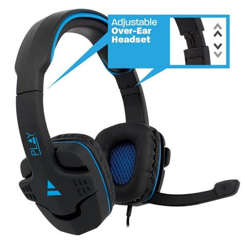 comfortable headsets pl3320 comfortable over ear gaming headset