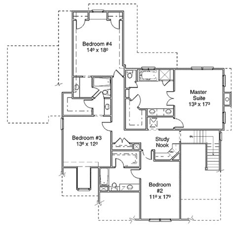 A Second Master Suite 5640ad 2nd Floor Master Suite Second Master Suite House Plans