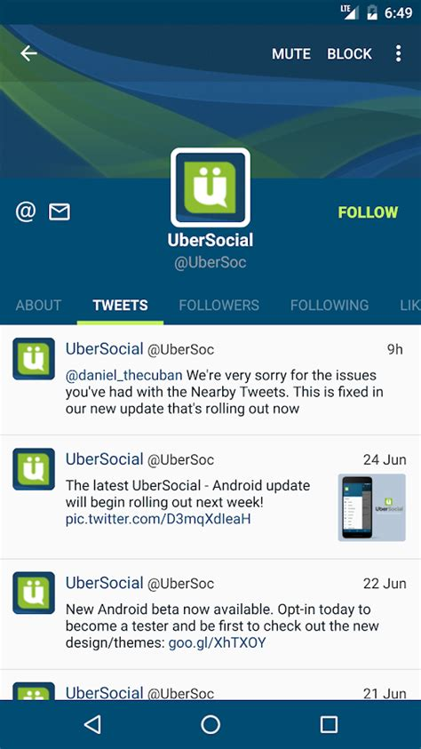 twiter apk ubersocial for apk android social apps