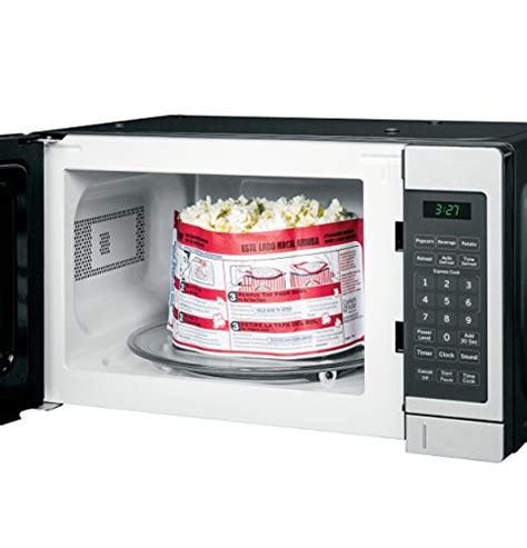 Ge Countertop Stove Parts by Ge Jes1072shss 0 7 Cu Ft Capacity Countertop Microwave Oven With Auto And Time Defrost In