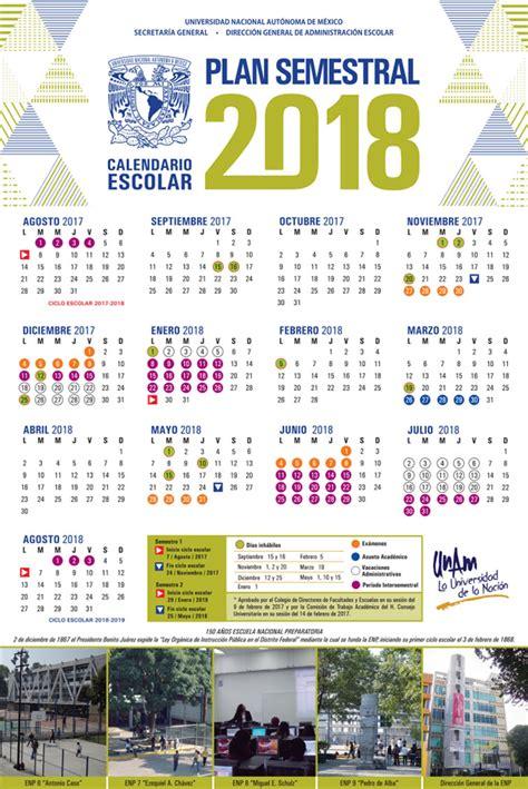Calendario Escolar Unam 2016 1 Pdf Calendarios Escolares Unam