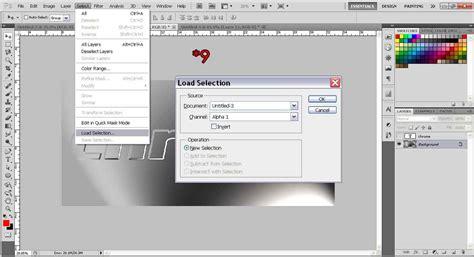 photoshop words chrome tutorial create chrome effects text photoshop tutorial org
