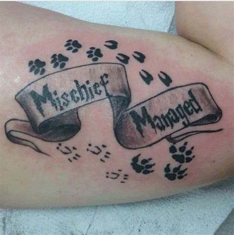 marauders map tattoo best 25 mischief managed ideas on