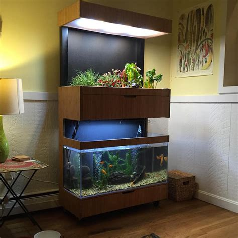 indoor garden technology hi tech indoor garden uses aquaponics to grow a salad a day