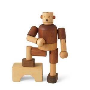Kitchen Booth Furniture leo amp bella soopsori wooden robot