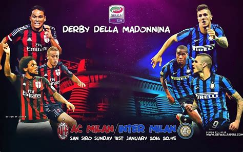 ac milan vs inter de mil 225 n 2016 seria a hd wallpapers