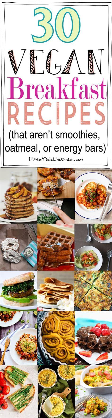 healthy vegan energy bars recipe 30 vegan breakfast recipes that aren t smoothies oatmeal