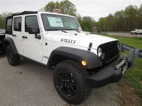 Jeep Willys Edition 2014 Jeep Wrangler Willys Wheeler Edition To Make Los