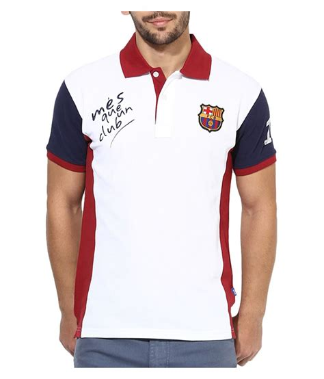 Polo Shirt Fans Club Barcelona barcelona t shirt mens mes queun club polo buy barcelona t shirt mens mes queun club polo