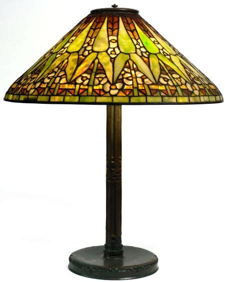 stained glass l bases tiffany studios arrowroot lamp bronze l base with