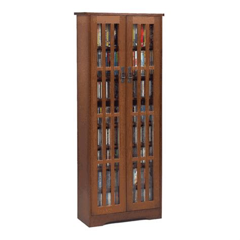 leslie dame mission style multimedia storage cabinet
