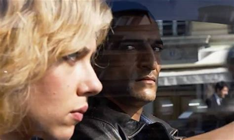 film lucy kiss amr waked acts alongside scarlett johansson and morgan