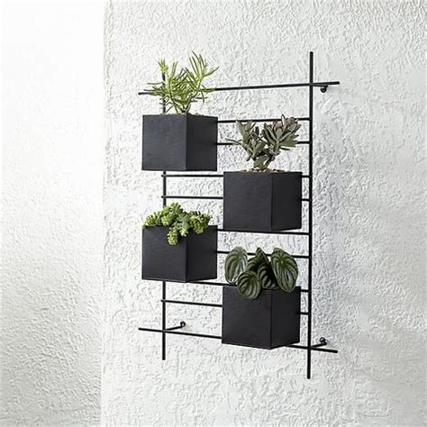 wall planters  outdoor  indoor house plants