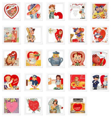 vintage valentines printable and adorable