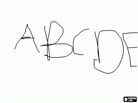 coloring pages abcd abcd coloring page printable abcd