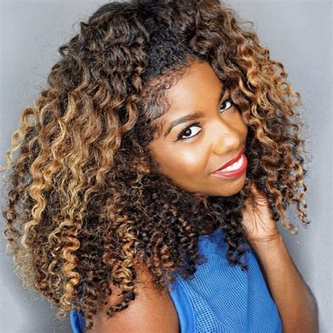 ombre highlights for african americans black natural hair color ideas 4k wallpapers