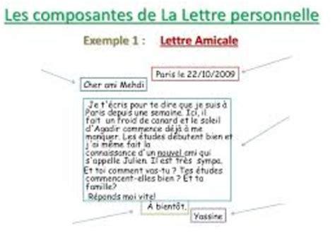 Exemple De Lettre Administrative A Forme Personnelle Presentation Lettre Personnelle