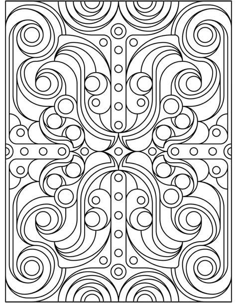 Art Deco Coloring Pages Book Covers Deco Coloring Pages