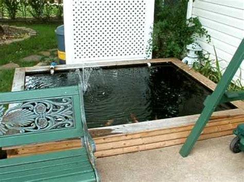 diy small backyard small backyard koi pond 1000 1200 gal ez build diy youtube