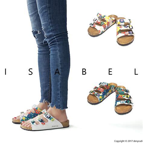 Sepatu Sandal Tali Kalep Tokyo tokyo sandal sendal wanita platform tosca putih