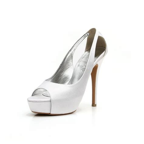 custom made wedding shoes wedding shoe white wedding shoe satin wedding heel