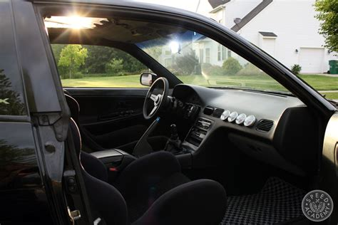 240sx S13 Interior by Damon S S13 240sx Re Birth Interior Makeover Speed Academy