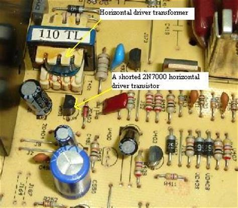 transistor driver hoizontal transistor driver hoizontal 28 images how to prevent the horizontal output transistor h o t