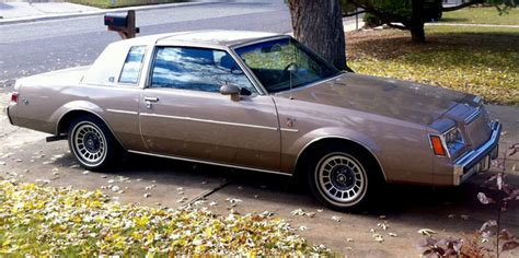 turbocharged buick 1983 buick regal t type turbocharged