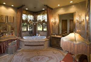 Brown Bathroom Accessories Sets by Venetian Eclectic French Master Bathroom Mediterranean