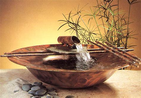interior table desktop water features water feature supply