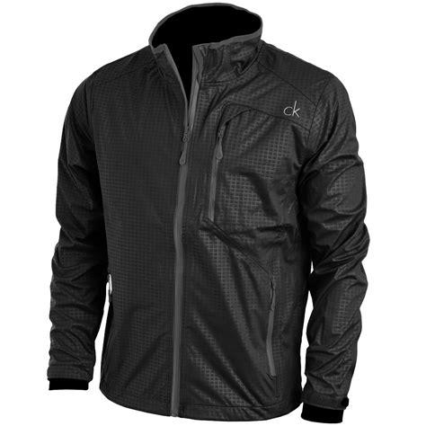 Jaket Calvin Klein Kntng Besar Zip calvin klein golf mens ck stealth waterproof jacket zip coat ebay