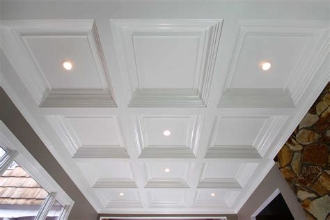Cost Of Tray Ceiling coffered ceiling system easy ceiling panel treatments
