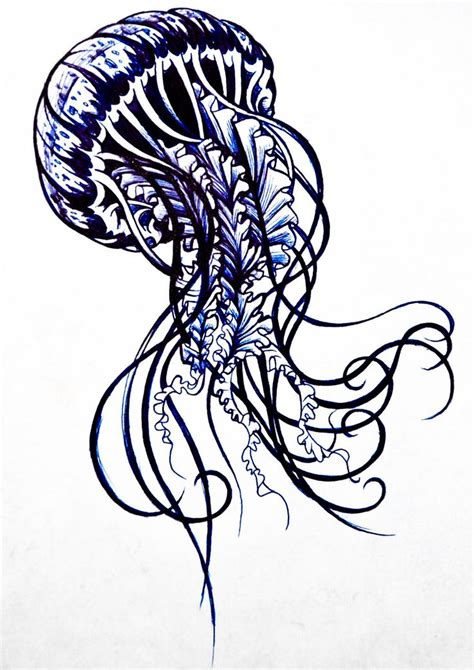 jellyfish tattoo design 17 best ideas about jellyfish on
