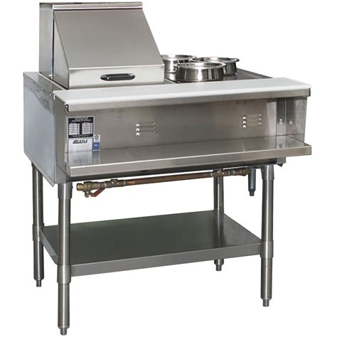 eagle sht2 steam table two pan all stainless steel