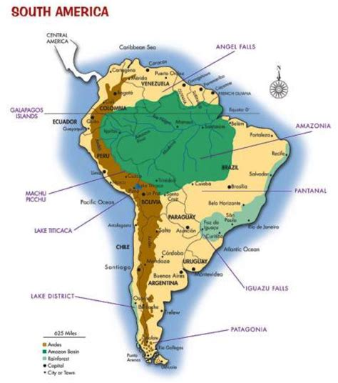 south america map rivers and mountains last 211 week 1
