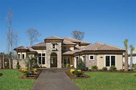 Hulbert Homes Floor Plans by Mirasol 1205 Mediterranean Exterior Tampa By