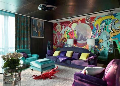graffiti interior design piece