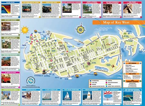 map of key west florida key west tourist map maplets