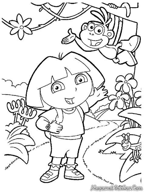 download film kartun tayo mewarnai dora the explorer mewarnai gambar