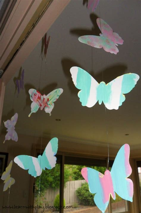 butterfly decorations learn with play at home butterfly birthday ideas