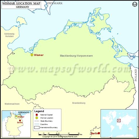 locate germany on world map where is wismar location of wismar in germany map