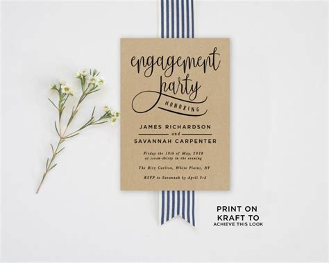 engagement invitations template invitation engagement invitation template 2581199