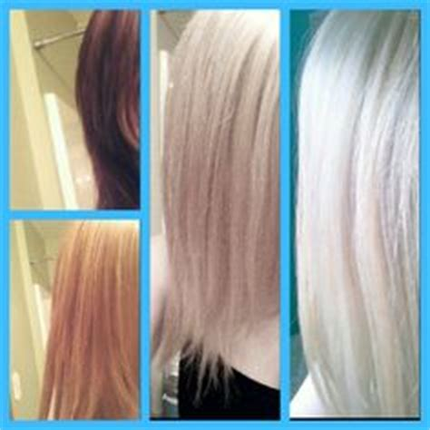 toner after bleaching copper hair cute hair on pinterest silver ombre dark brown and
