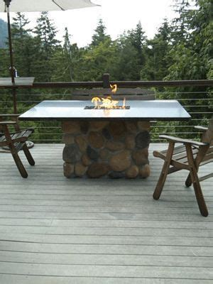 build a propane pit table how to build a propane pit dining table furniture