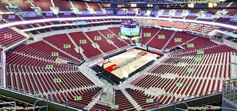 layout of kfc yum center kfc yum center view from section 312 row f seat 5