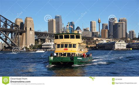 boat city sydney ferry boat city australia editorial photo image